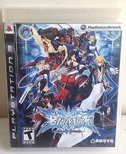 BlazBlue Calamity Trigger (AKSYS, PS 3, 2009) STD Edition For Sony PlayStation 3
