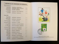 FRANCE ENCART FDC YVERT  2985      FOOTBALL COUPE UEFA     2,80    TIRAGE LIMITE