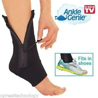 """""""Set of 2"""" As Seen on TV Ankle Genie Compression Support"""