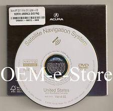 2006 2007 2008 2009 Acura MDX Navigation White DVD Map U.S Canada 2011 Update