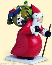 Wendt & Kühn Großer Weihnachtsmann mit Spielzeug 6301/5h  Erzgebirge