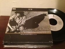 "U2 - SPANISH 7"" SINGLE SPAIN EP - WITH OR WITHOUT YOU"