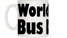 World's Best Bus Driver Mug