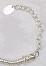 NEW 925 silver bracelet,Kera necklace extension,1 in