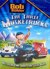 Bob the Builder - Three Musketrucks  NEW! DVD, CHILDRENS,CAN DO CREW! FREE SHIP