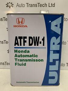 genuine honda atf dw1 automatic transmission gearbox oil 4L ultra ATF DW-1 fluid
