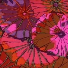 Coupon de Tissu Kaffe Fassett Lotus Leaf Wine 45x55cm