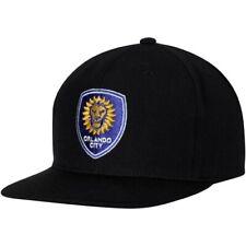 Orlando City SC Mitchell & Ness MVP Classic Adjustable Snapback Hat - Black