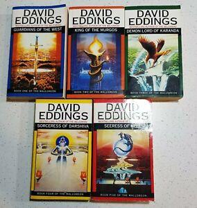 Malloreon Series By David Eddings Complete Set Books 1-5 Paperbacks