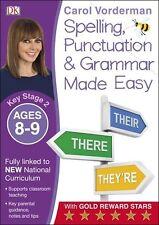 Fácil ortografía, signos de puntuación y gramática (KS2): edades 8-9 Nuevo Libro De Bolsillo