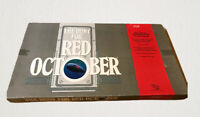 Vintage The Hunt For Red October TSR Strategy Board Game Tom Clancy Novel Themes