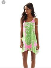 NWT Lilly Pulitzer Monterey Dress Pink Pout Flamenco Pineapple tank M Medium