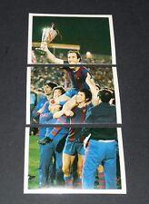124-126 FINALE 1979 BARCELONA-DÜSSELDORF C2 FOOTBALL BENJAMIN EUROPE 1980 PANINI