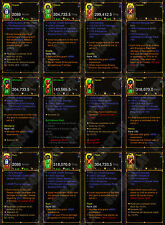 Diablo 3 RoS XBOX ONE [HARDCORE] New 2.6 Modded Weapon Bundle - All Classes!