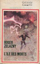 C1 Roger ZELAZNY L Ile des Morts EO 1971 Couverture MOEBIUS Giraud PRIX APOLLO