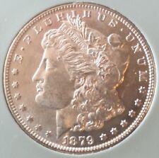 BRILLIANT BU ~ 1879 S Morgan Silver Dollar ~ ESTATE SALE NO RESERVE $1 ~ MS (#2)