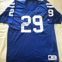 Eric Dickerson signed autographed Colts authentic Champion stitched blue jersey