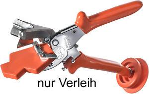 Schere Löwe 4.104 VR-Dichtungsprofilschere Verleih für 1 Woche Gehrungsschere
