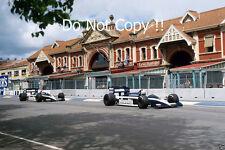 Riccardo Patrese & Derek Warwick Brabham BT55 Australian GP 1986 Photograph