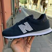 New Balance 500 Scarpe Sneakers Sportive Casual pelle Blu Navy  inverno 2020