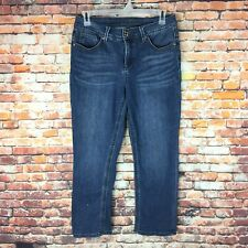 Diane Gilman Womens Size 10 Bootcut Dark Wash Denim Jeans