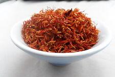Dried SAFFLOWER Petals  - 50g - CARTHAMUS TINCTORIUS - Free Postage
