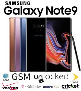 Samsung Galaxy Note9 128GB 512GB - Unlocked Verizon T-Mobile AT&T Metro Sprint