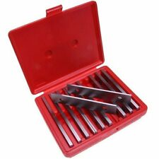 10 pair Machinist Thin Parallel Jig Block Bar Tool Set - Hardened & Ground Steel