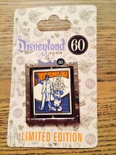 Dlr Diamond Celebration Event 60th Event Logo Walt Spinner Le Disney Pin 109142