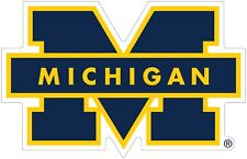 "University of Michigan Wolverines Color Decal Sticker - You Pick Size 2""-42"""