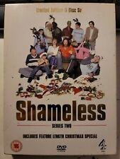 Shameless UK TV Series Two & Christmas Special 3 DVD Box Set British Television