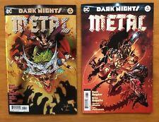 Dark Nights Metal 6  Capullo Foil Stamped 1st Print + Kubert Variant DC NM+