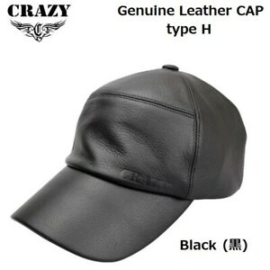 2019 Crazy Golf Japan Genuine Leather CAP type H Black onesize 19wn