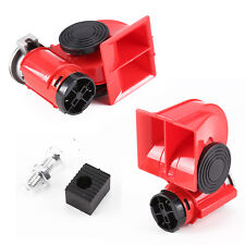 12v 150db Car Air Horn Blast Compact Twin Tone Loud Horn Truck Lorry Suv Boat UK
