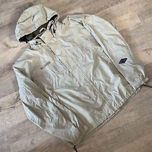 Mens Columbia Rain Jacket Size 2XL Good Condition