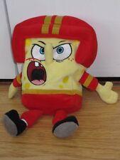 "6-8"" Ty Spongebob Squarepants Peluche de Juguete de mariscal de campo de fútbol soccer Beanie"
