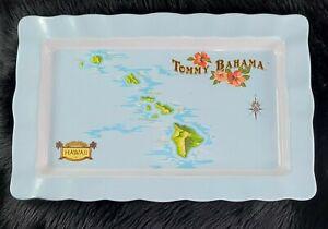 Tommy Bahama 100% Melamine Large Paradise Hawaii Hawaiian Islands Serving Tray
