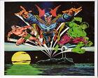 DR STRANGE, INCREDIBLE HULK & SUB MARINER TEAM UP PinUp Poster Marvel