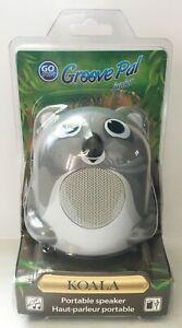 GOgroove Koala Pal Junior Portable Speaker Glowing Base Speaker for Kids New