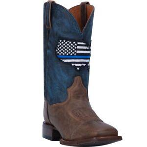 Dan Post Mens Thin Blue Line Boots