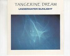CD TANGERINE DREAMunderwater sunlightCHIP 40 EX- (A4639)