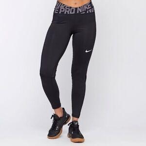 Women's Nike pro dri fit intertwist leggings XS Black