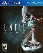 Until Dawn - PS4 (Sony PlayStation 4, 2015)