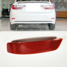 1X Car Rear Bumper Left Side TailLight Reflector Cover For Lexus ES250 2013-2017
