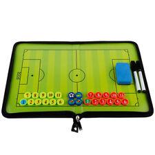 Foldable Football Tactics Board Foldable Football Setting Book With Pen