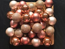 Rose Gold Christmas Tree Ornaments Ebay