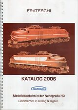 catalogo FRATESCHI Trens Eléctricos Brazil 2006 Nenngröße HO         D     bb