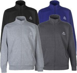 ✅ LONSDALE Herren Sweatjacke Fleece Reißverschluss Pullover Sweatshirt Jumper