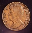 """CatalinaStamps: JFK, """"Ask Not What Your Country Can Do For You...."""" Coin, #CM4"""