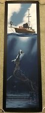 Jaws Steven Spielberg Orca Hooper Brody Print Poster Mondo Movie Mark Englert